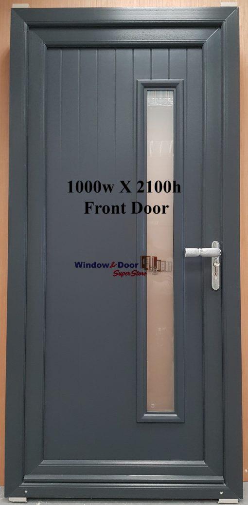 Front Door stock PVC