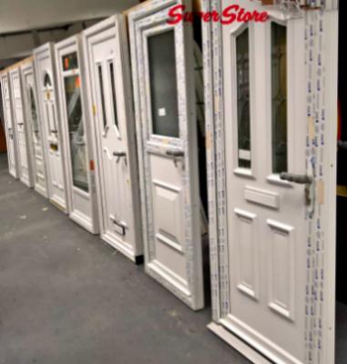 PVC Front Doors: New, Used & Mismeasured