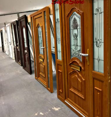 PVC Hall Doors: New, Mismeasured & Reconditioned. Large range of prices to suit all budgets.