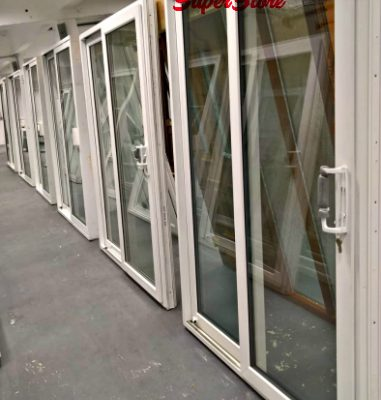 PVC sliding Doors: New, Mismeasured & Reconditioned. Large range of prices to suit all budgets.
